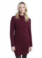 Westport Sweater dress - Malbec