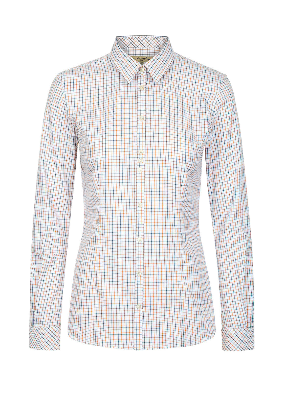 Dubarry_Elderflower Women's Shirt - Brown Multi_Image_2
