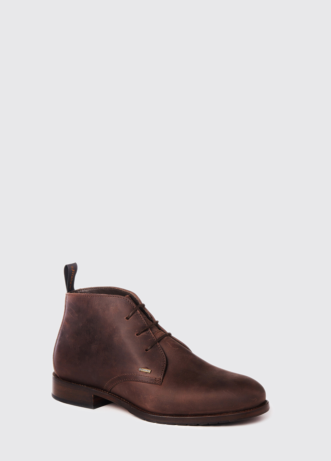 Waterville Mid Top Leather Boot - Old Rum