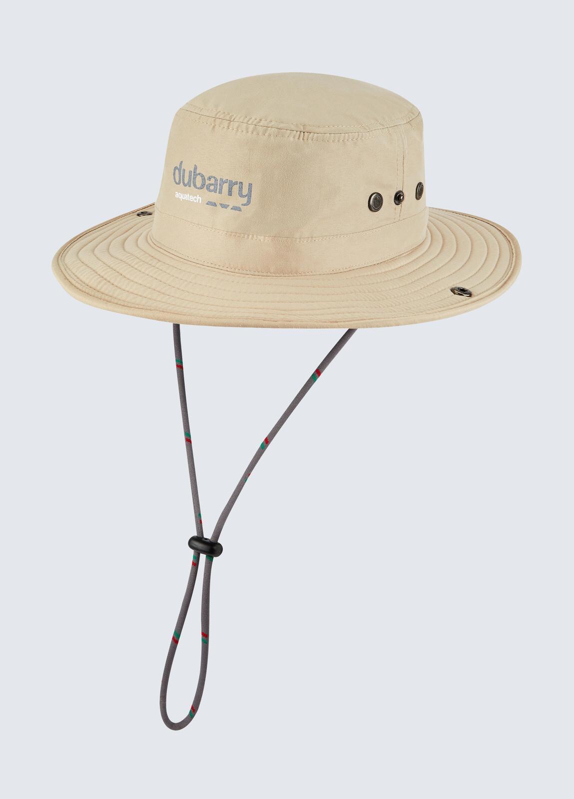 Genoa Brimmed Sun Hat - Stone