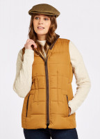 Spiddal Quilted Gilet - Amber