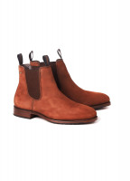 Kerry Leather Soled Boot - Walnut