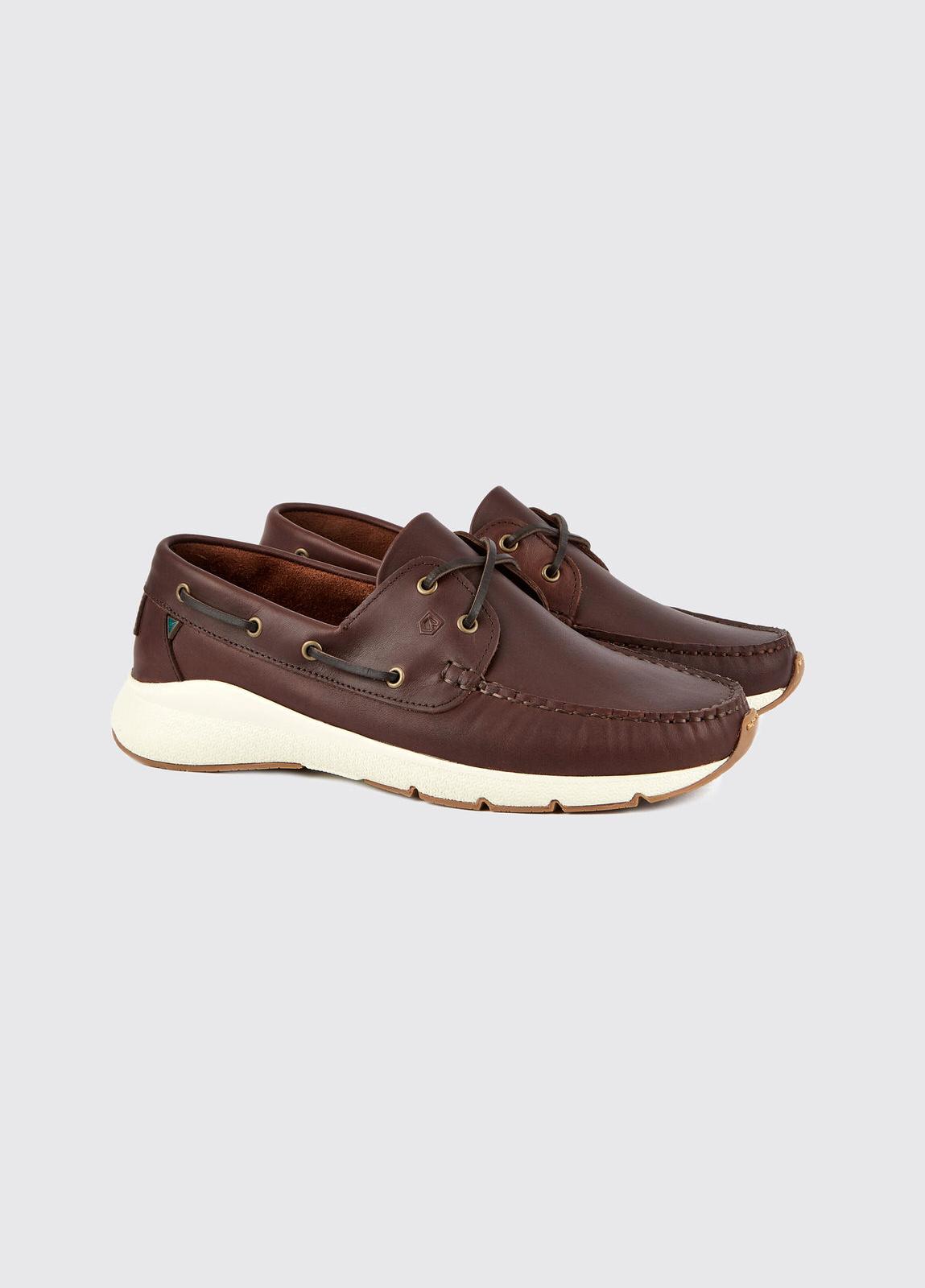 Dungarvan Lightweight Deck Shoe - Mahogany