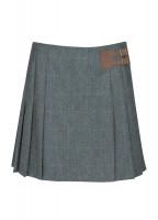 Foxglove Tweed Skirt - Mist