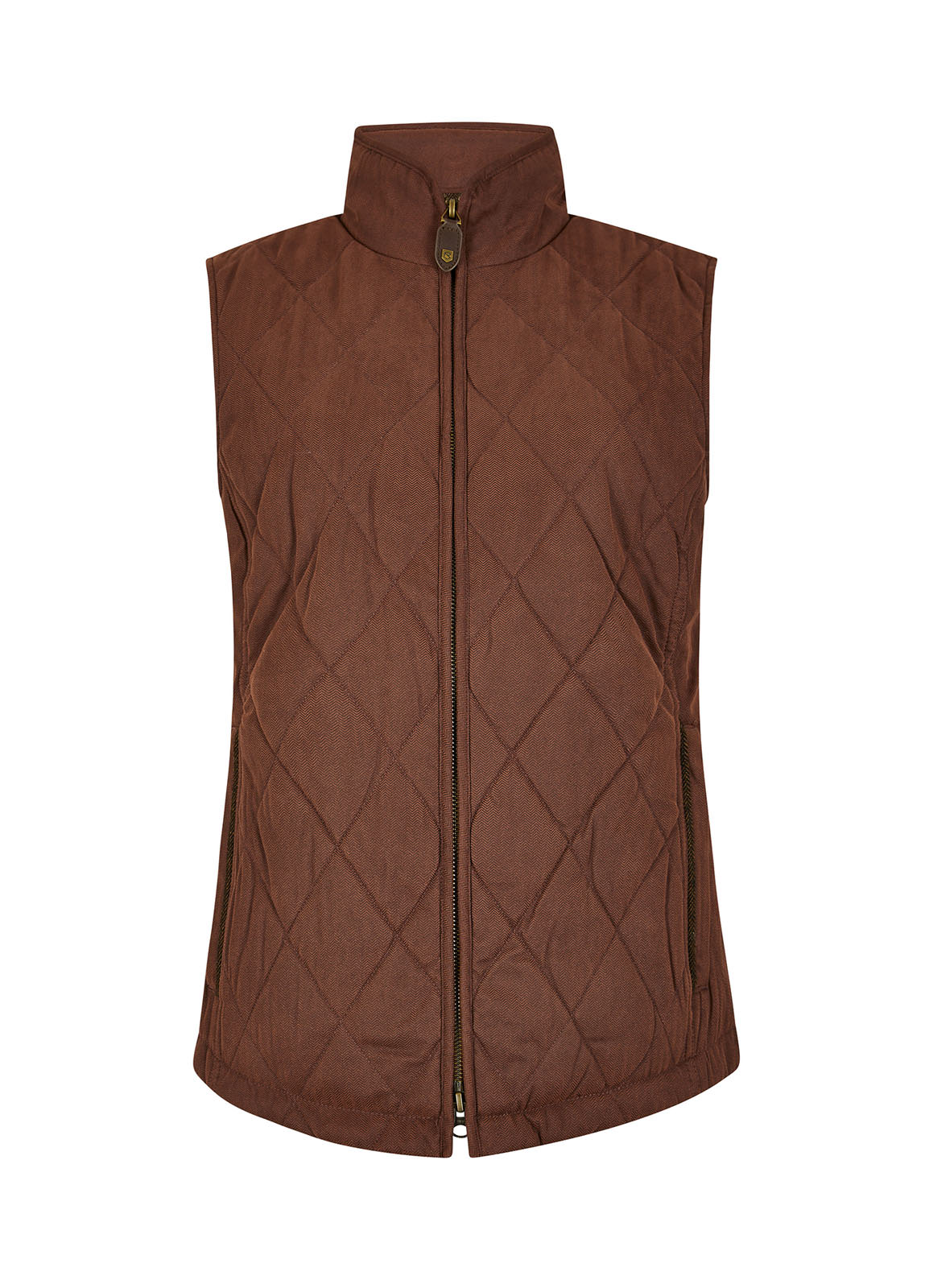 Dubarry_Callaghan Quilted Gilet - Russet_Image_2