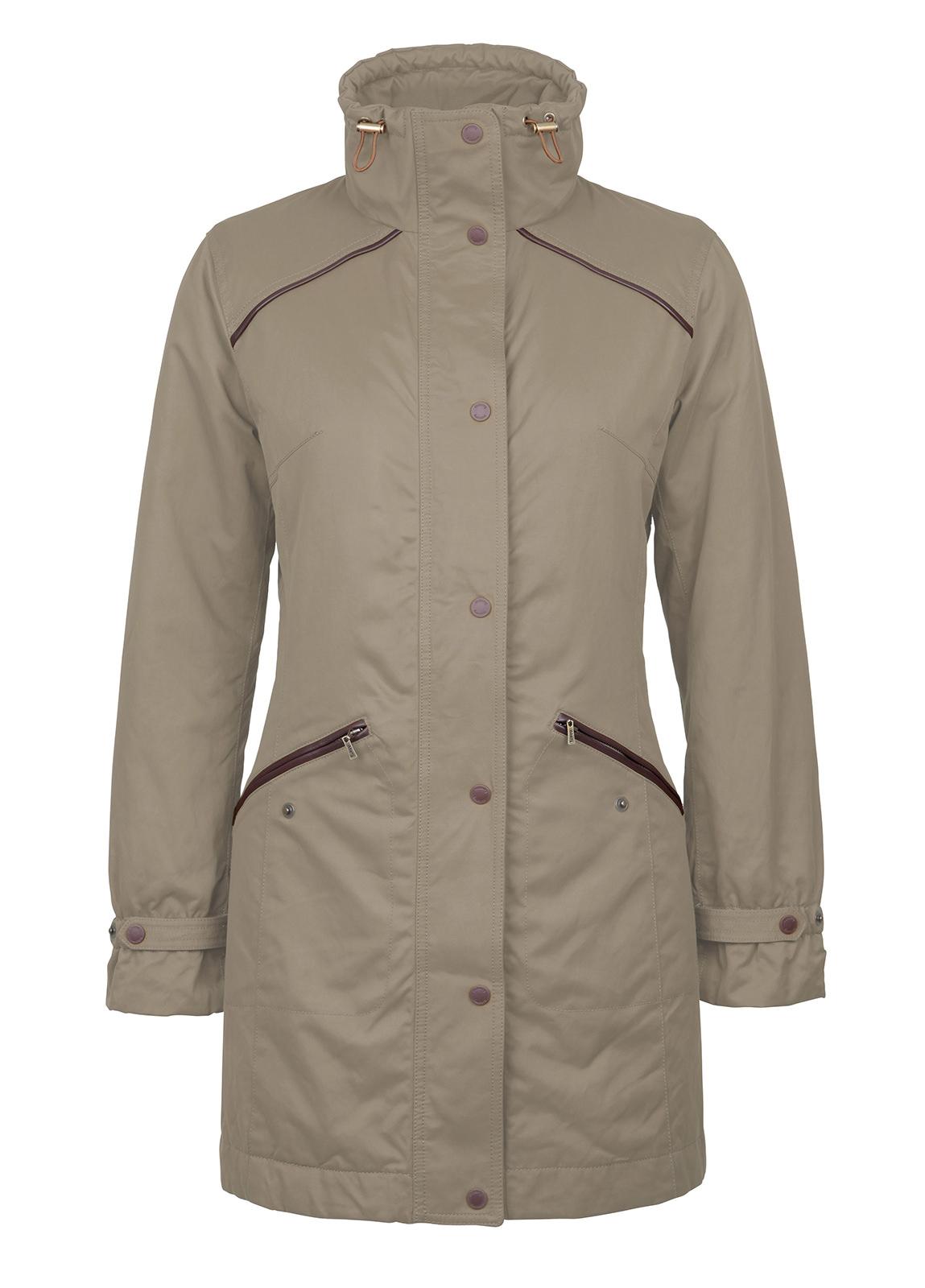 Dubarry_Leonard Womens Waterproof Coat - Ruby Red_Image_2