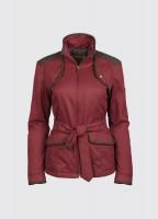 Enright Belted Jacket - Merlot