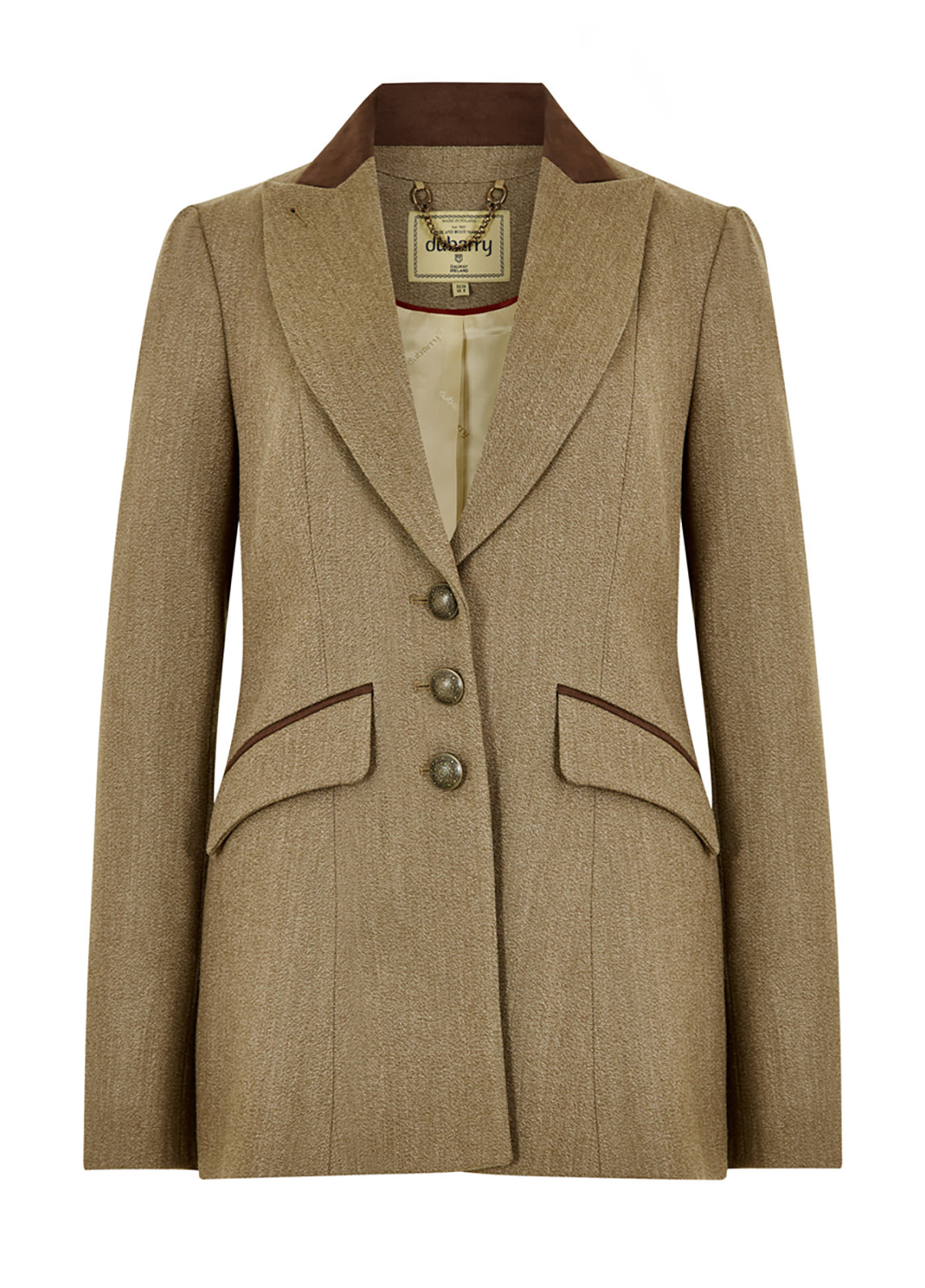 Dubarry_Heather Tweed Jacket - Pine_Image_2