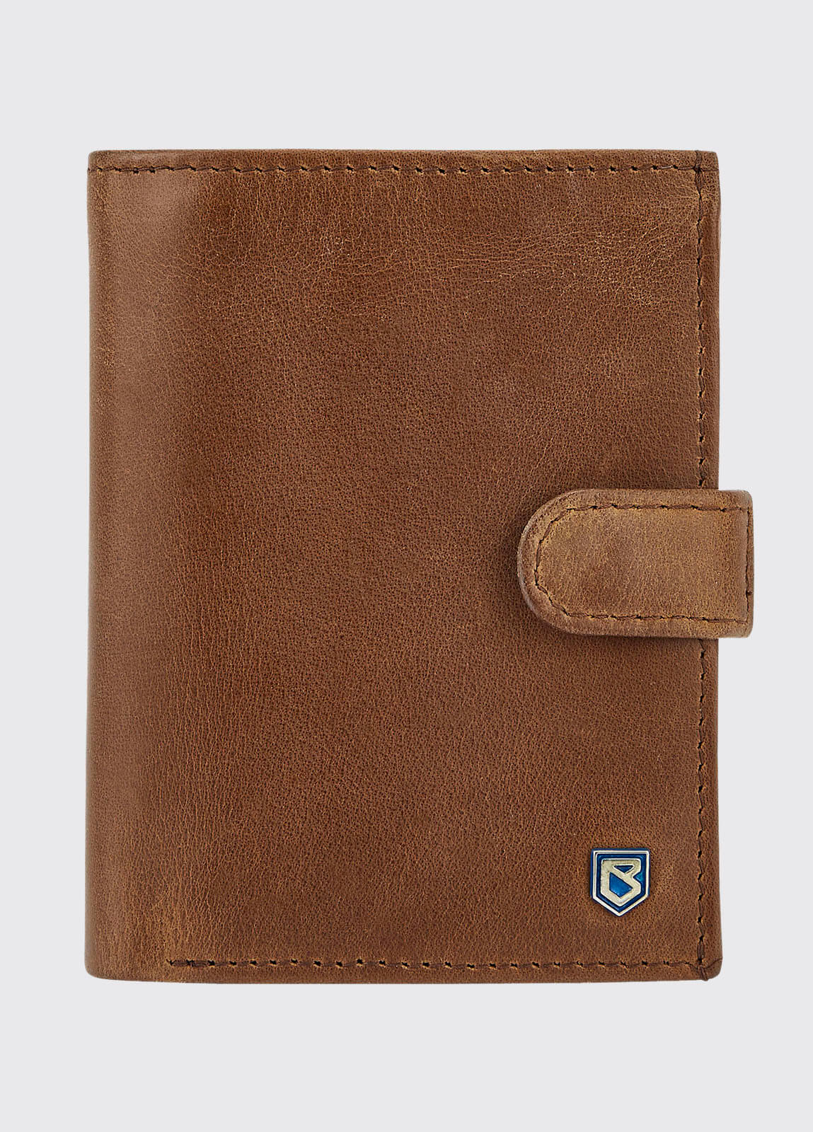 Thurles Leather Wallet - Chestnut