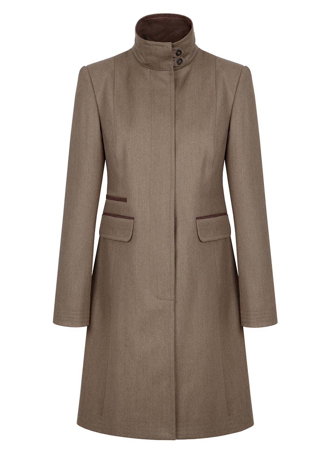 Dubarry_Elmtree Women's Covert Coat - Pine_Image_2