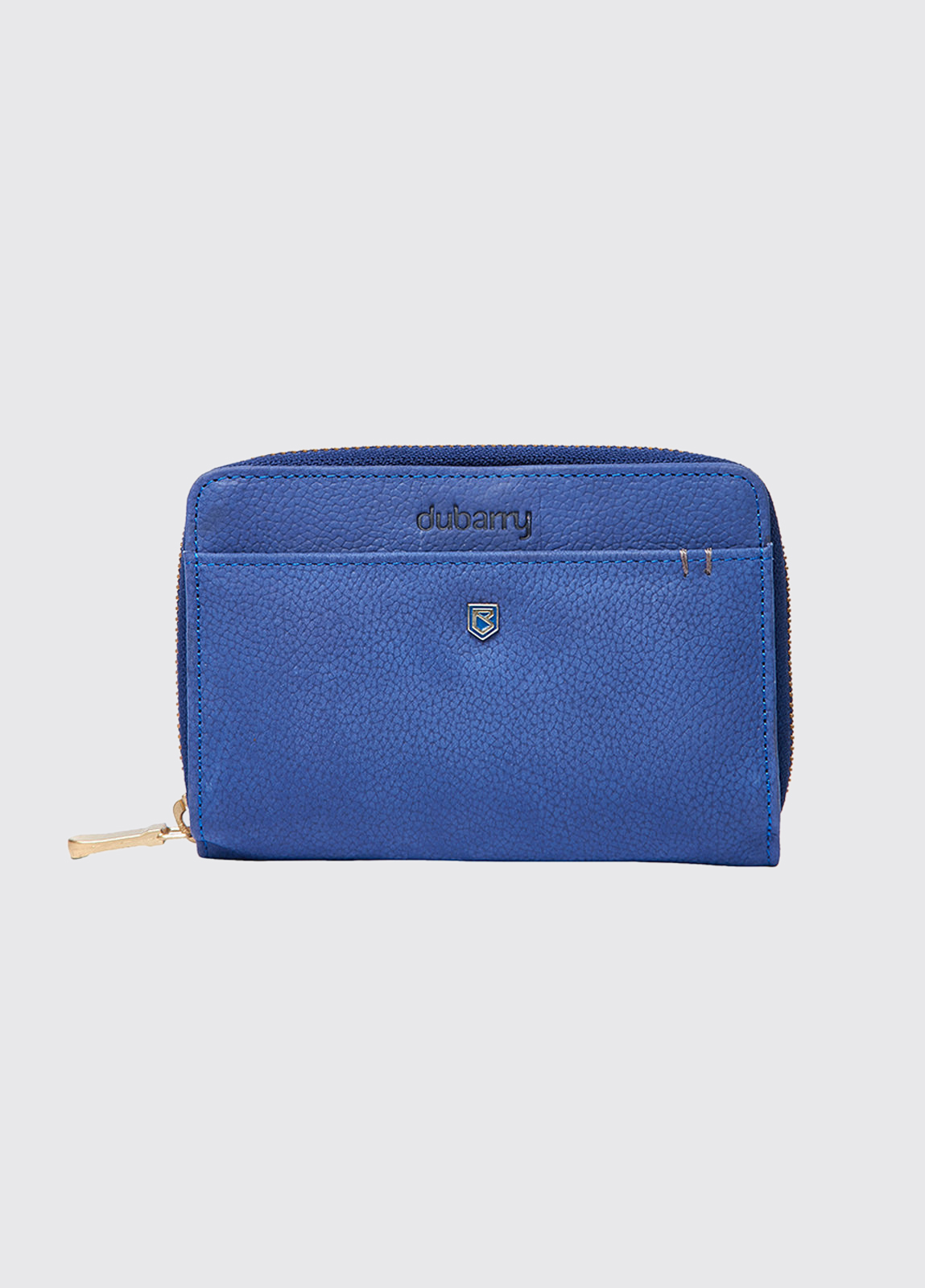 Portrush Leather Wallet - Cobalt