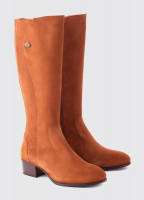 Downpatrick Knee High Boot - Camel