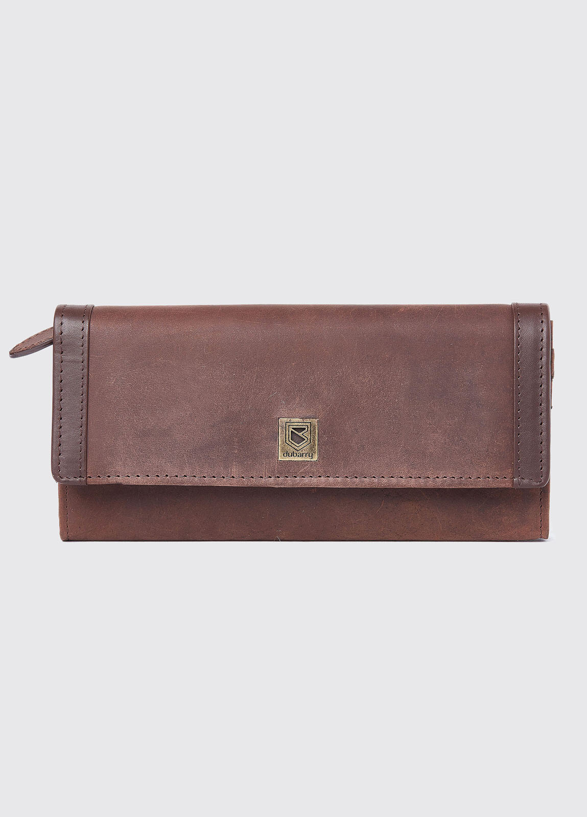 Collinstown Leather Wallet - Old Rum