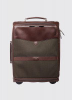 Gulliver Leather Carry On Case - Olive