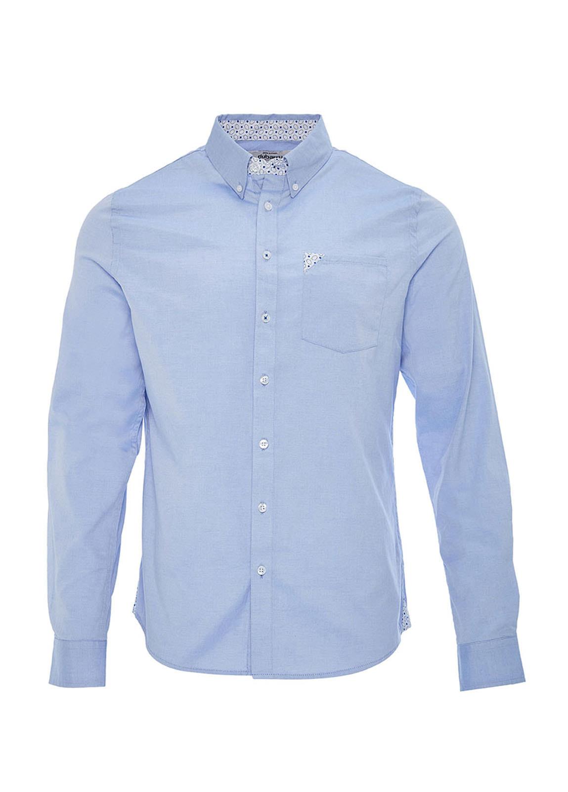 Dubarry_ Rathdrum Pinpoint Oxford Shirt - Blue_Image_2