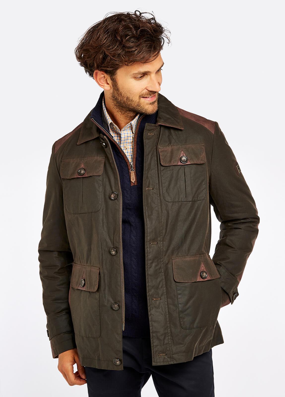 Broadford Wax Jacket - Olive