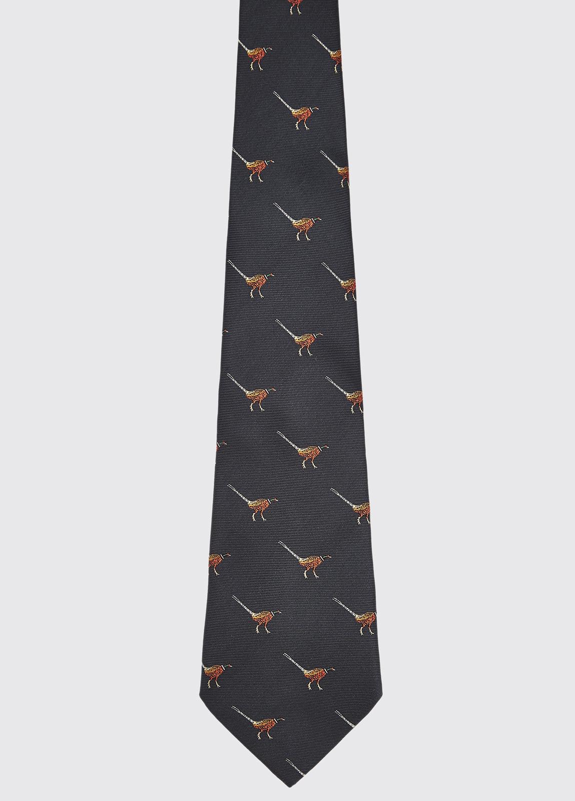 Madden Silk Tie - Navy