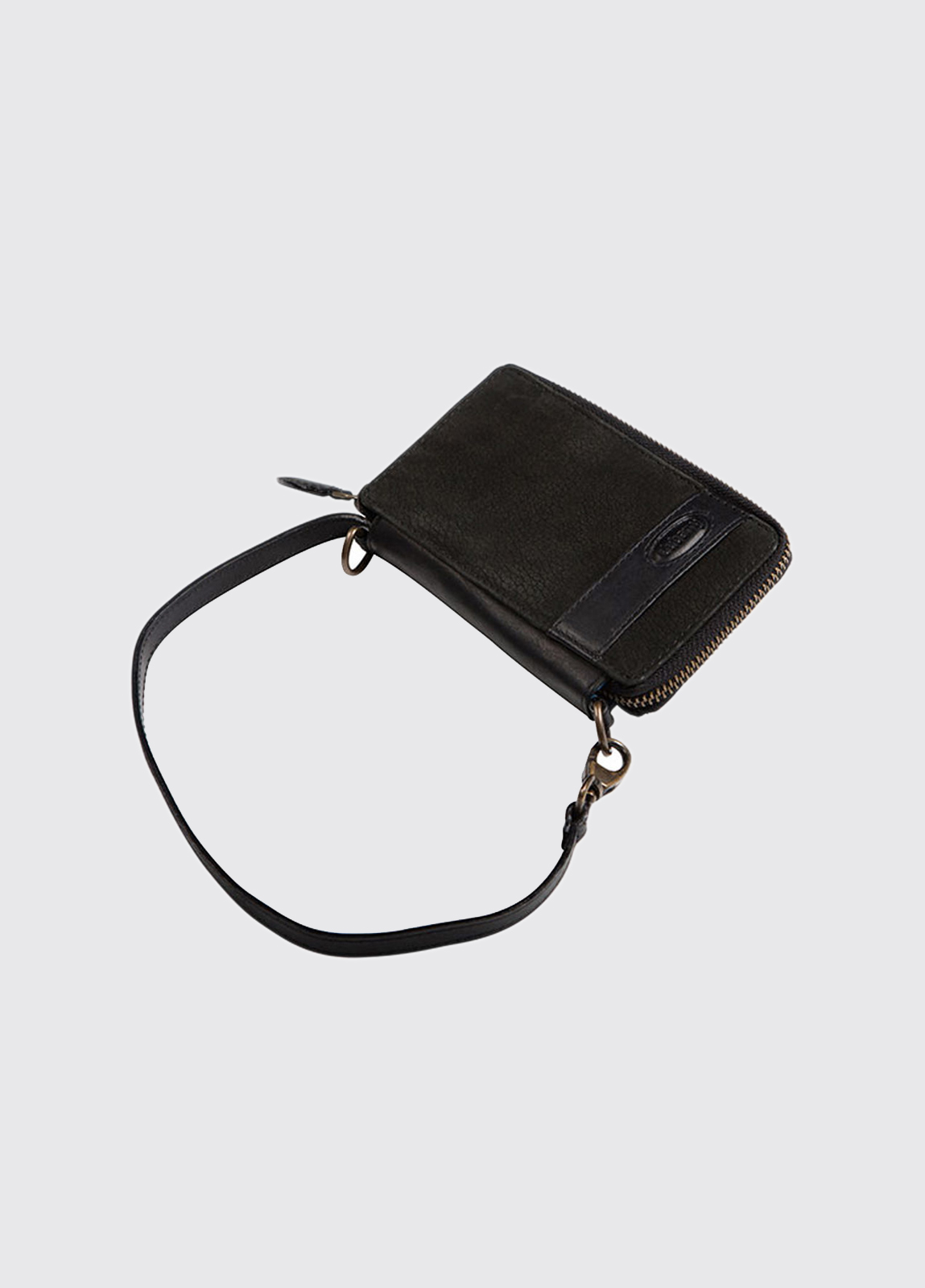 Emyvale Leather Purse - Black