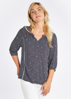 Cloudberry Top - Navy