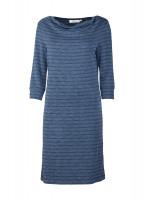 Ennis Cowl Neck Dress - Navy