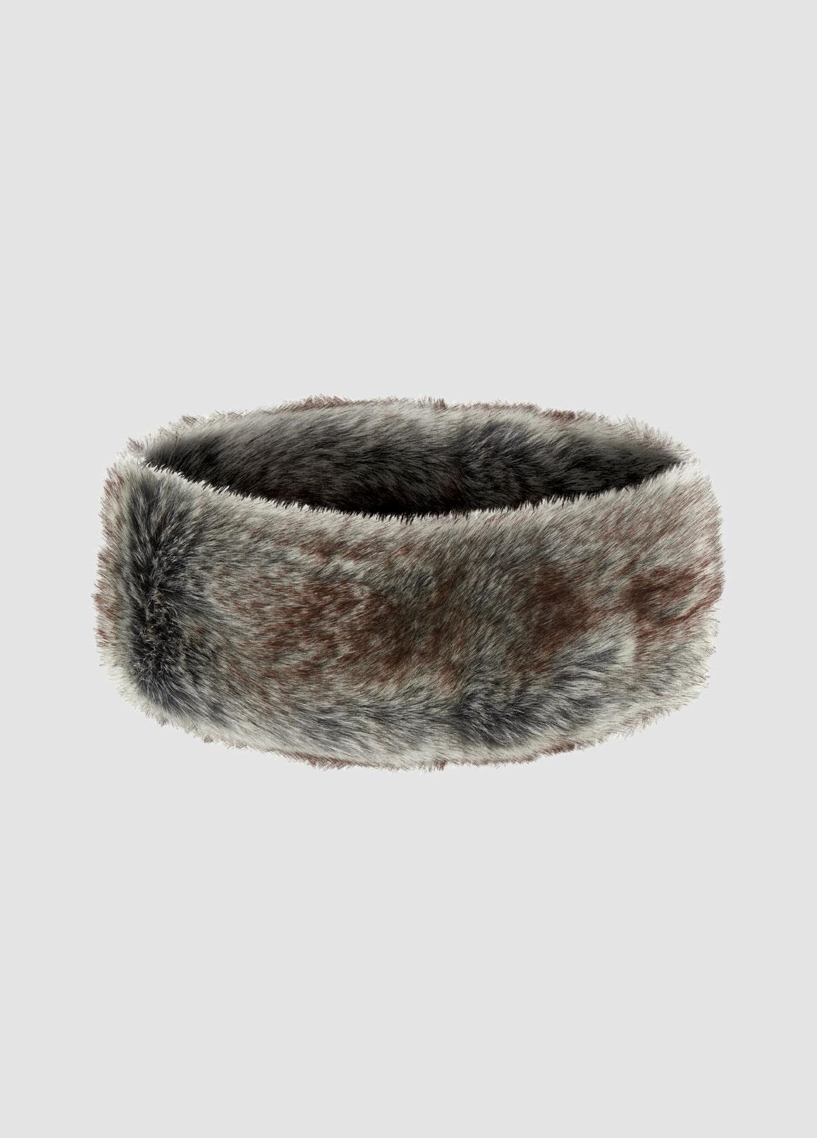 Faux Fur Headband - Sable