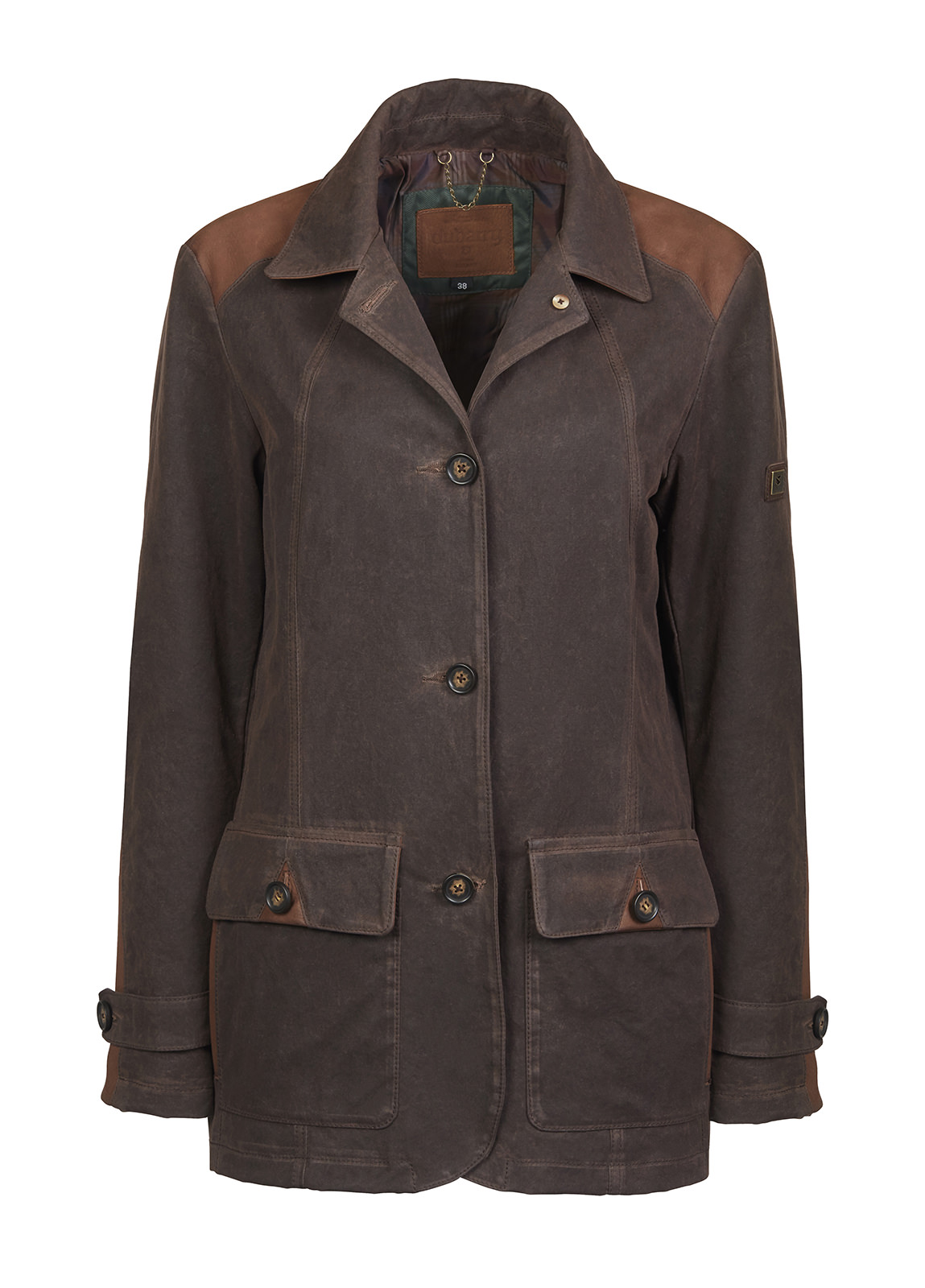 Dubarry_ Ballyliffin Country Jacket - Old Rum_Image_2