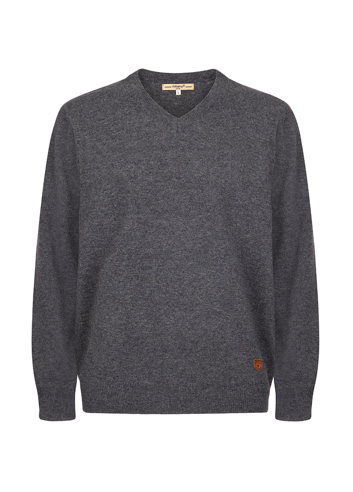 Dubarry_ Brennan Men's Knitted Sweater  - Graphite_Image_2
