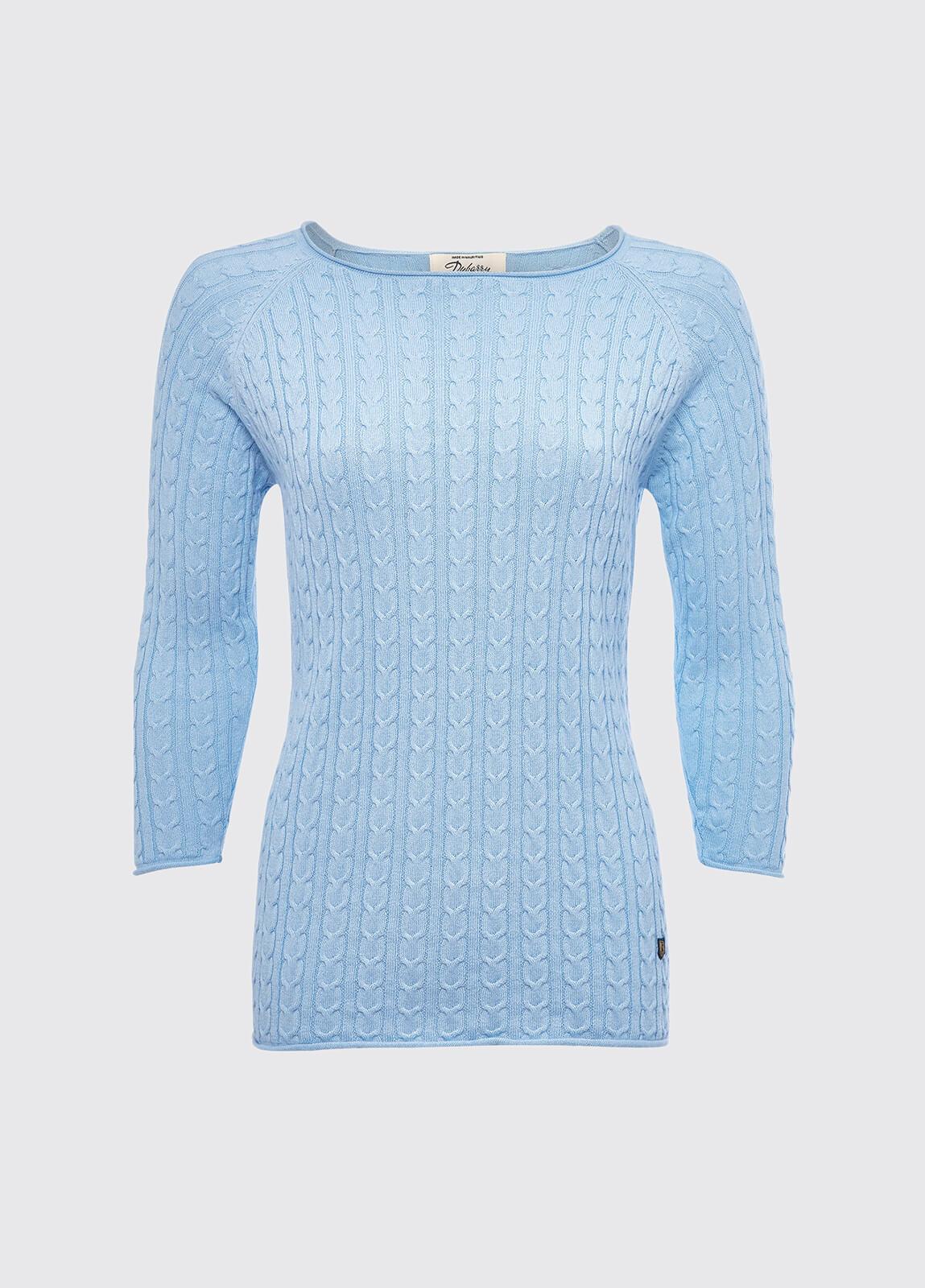 Caltra Sweater - Pale Blue