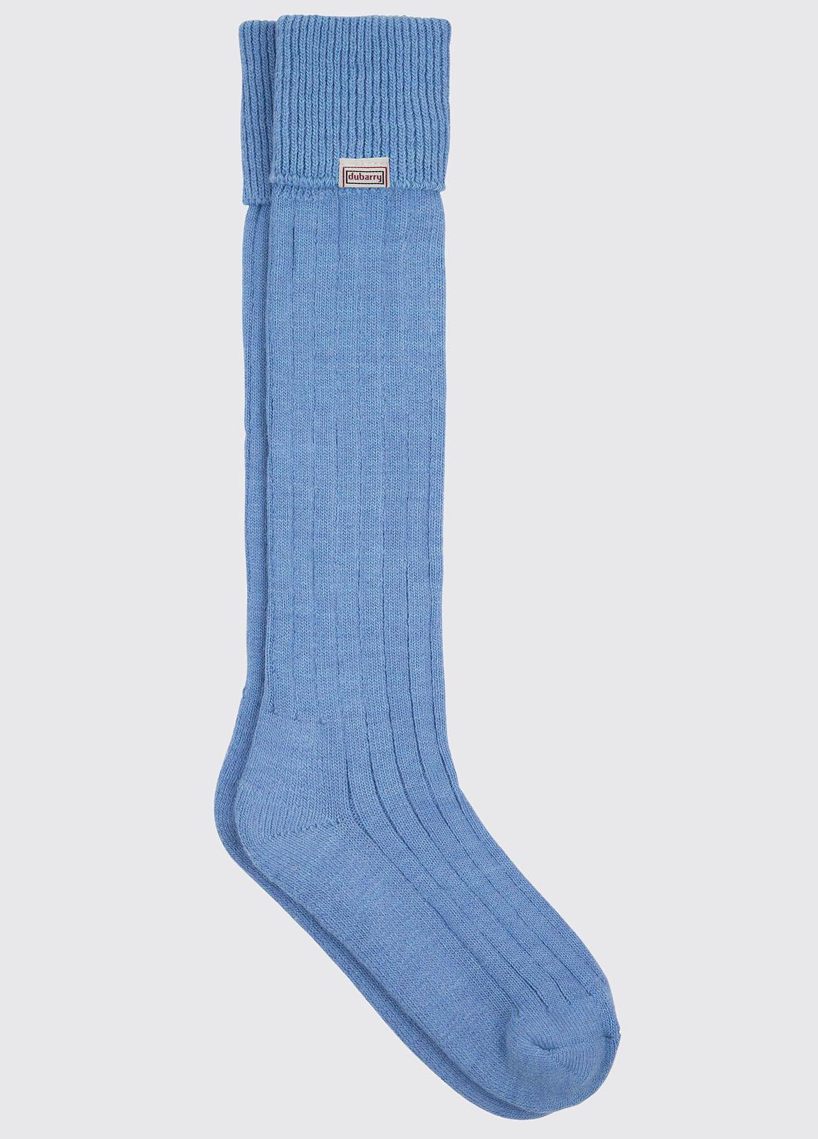 Alpaca Socks - Blue