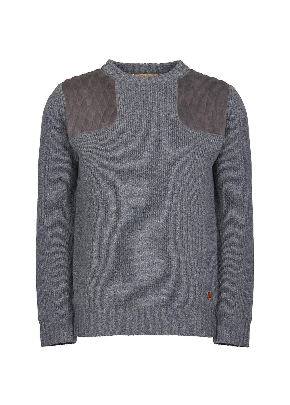 Dubarry_ Mulligan Men's Sweater - Graphite_Image_2