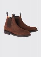 Fermanagh Goodyear Chelsea boot - Walnut