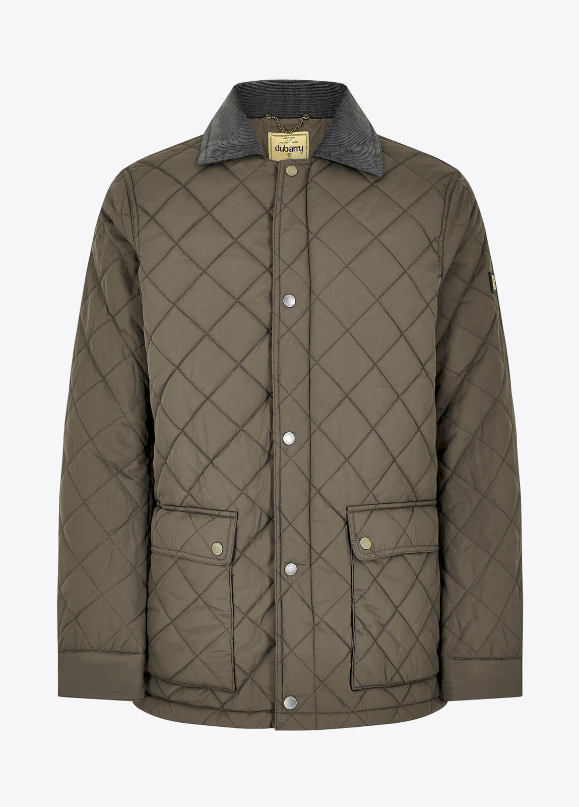 Adare Quilted Jacket - Smoke