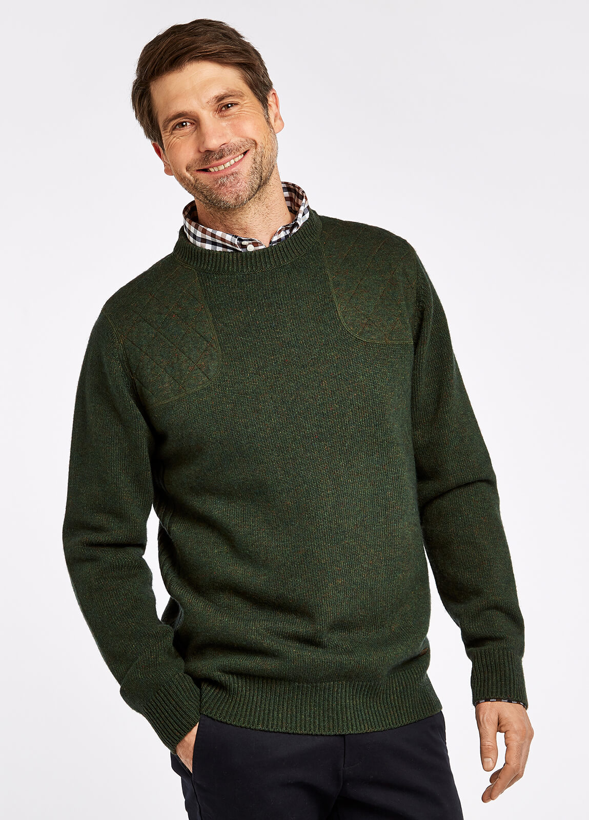 Nolan Knitted Sweater - Olive