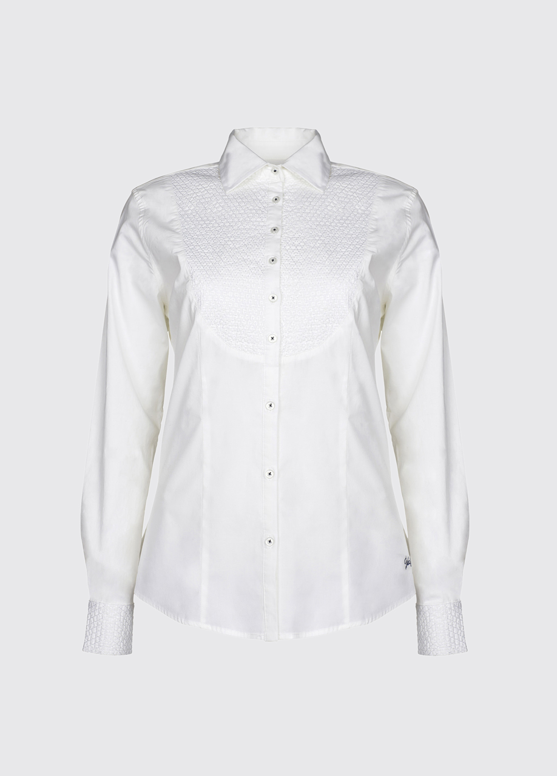 Larch cotton shirt - White