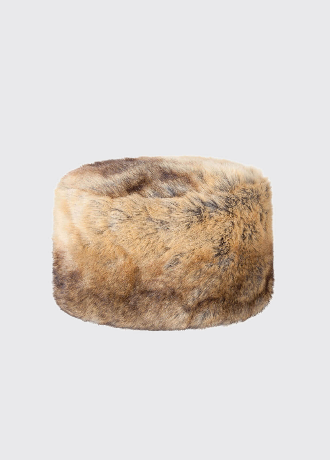 Avoca Faux Fur Hat - Chinchilla