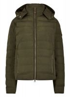 Kilkelly Quilted Coat - Olive