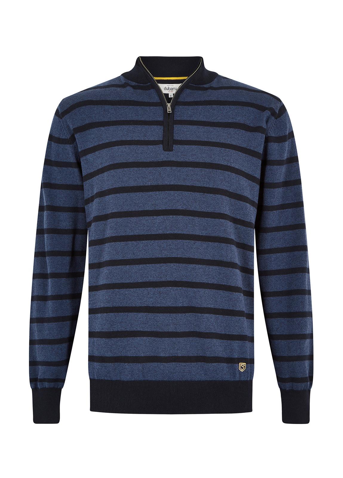 Dubarry_Abbeyville Sweater - Navy/Bordo_Image_2