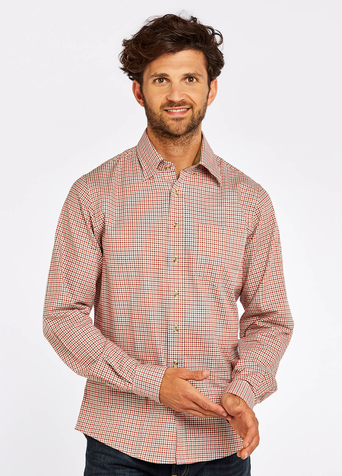Shrewsbury Shirt - Ruby Multi