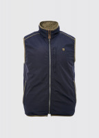 Killashee Reversible Lightweight Gilet - Navy
