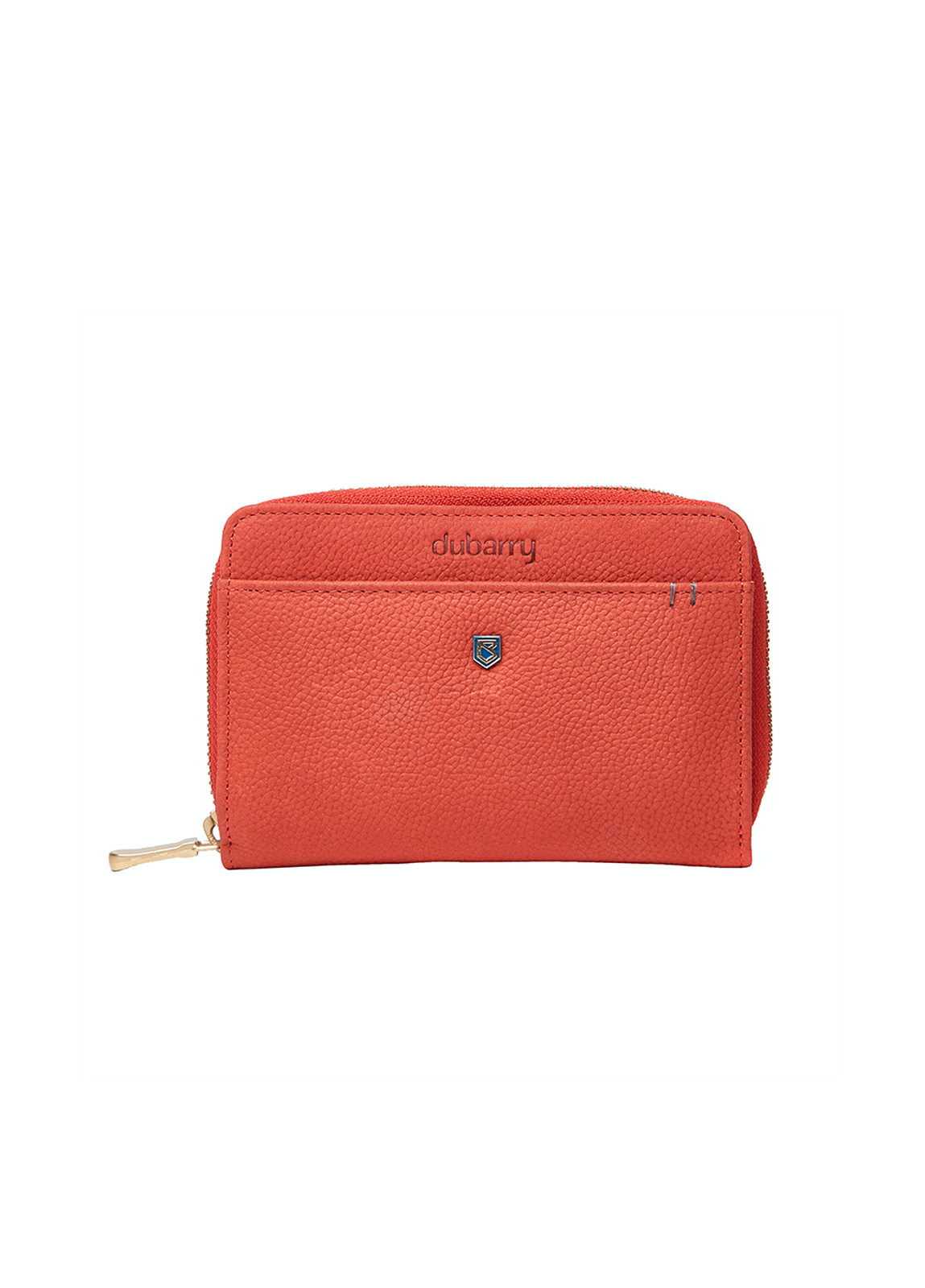 Dubarry_Portrush Leather  Wallet - Coral_Image_1