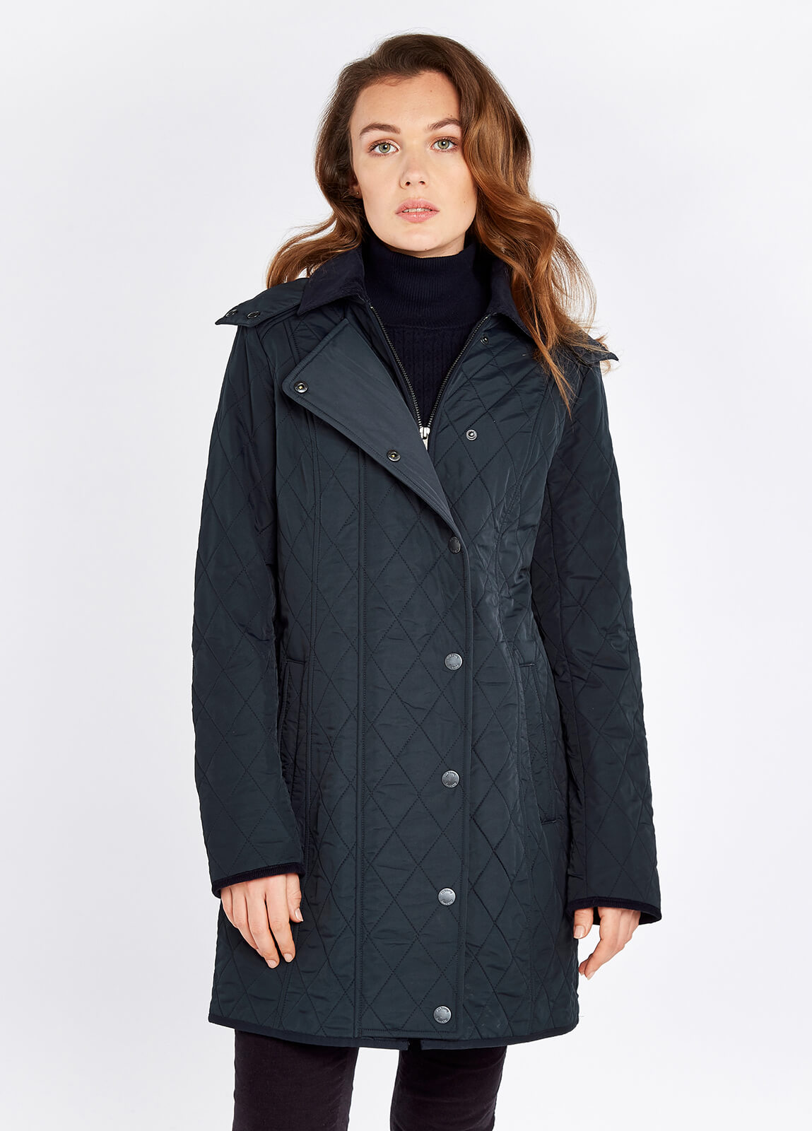 Jamestown Quilted Jacket - Navy