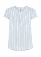 Gardenia Shirt - Pale Blue