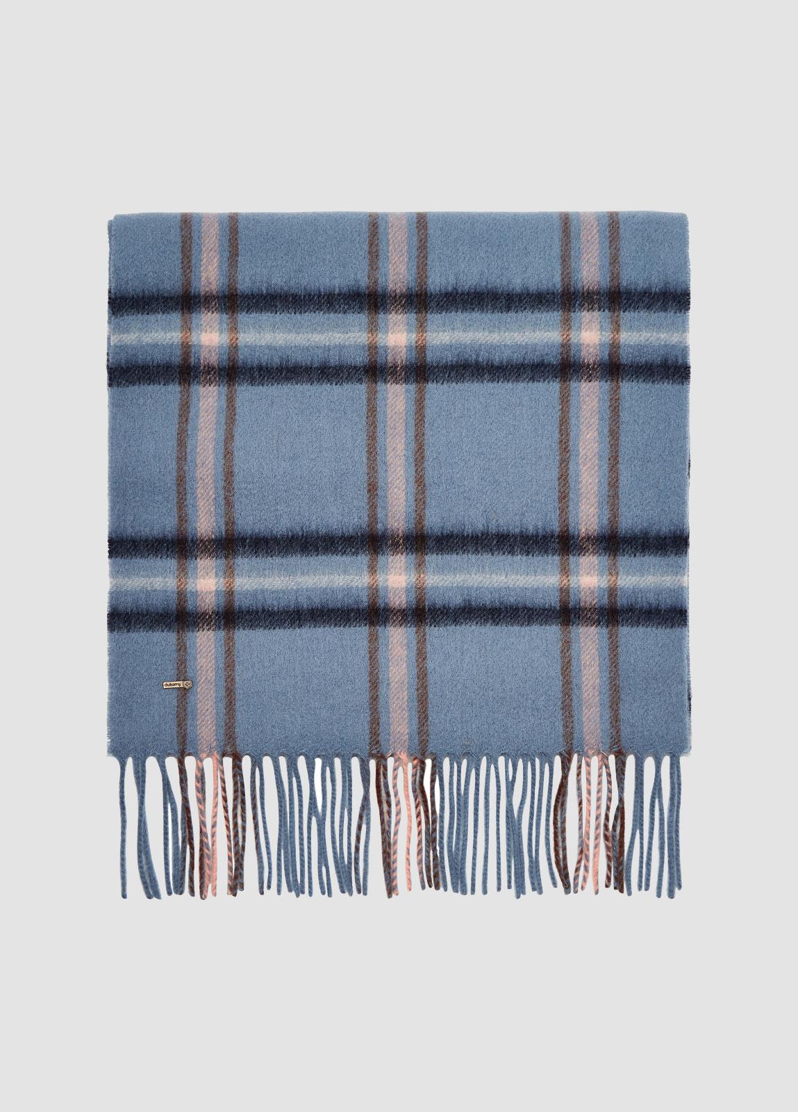 Cullen Wool Scarf - Slate Blue