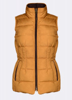 Spiddal Quilted Gilet - Mustard