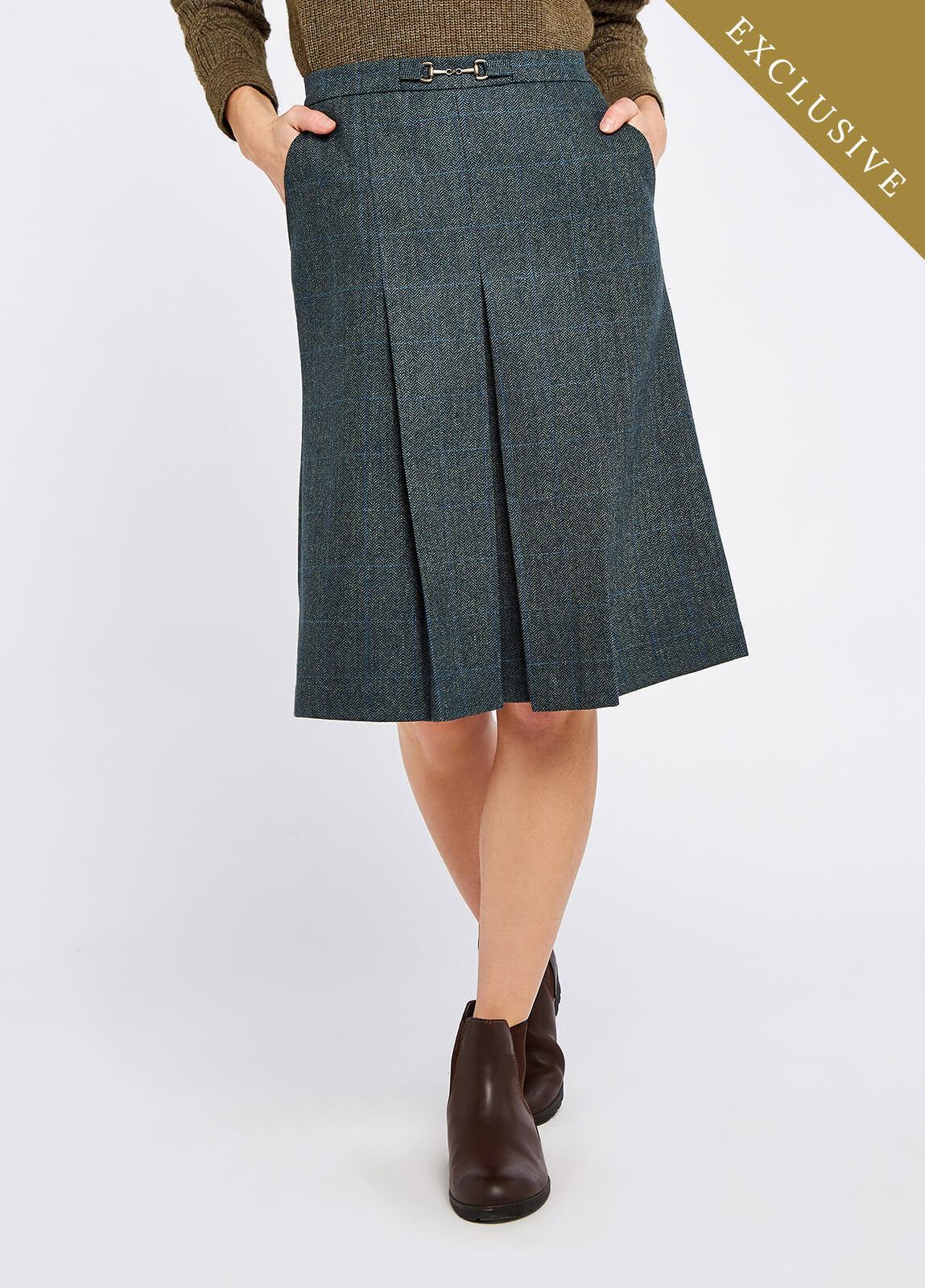 Spruce Tweed Skirt - Mist