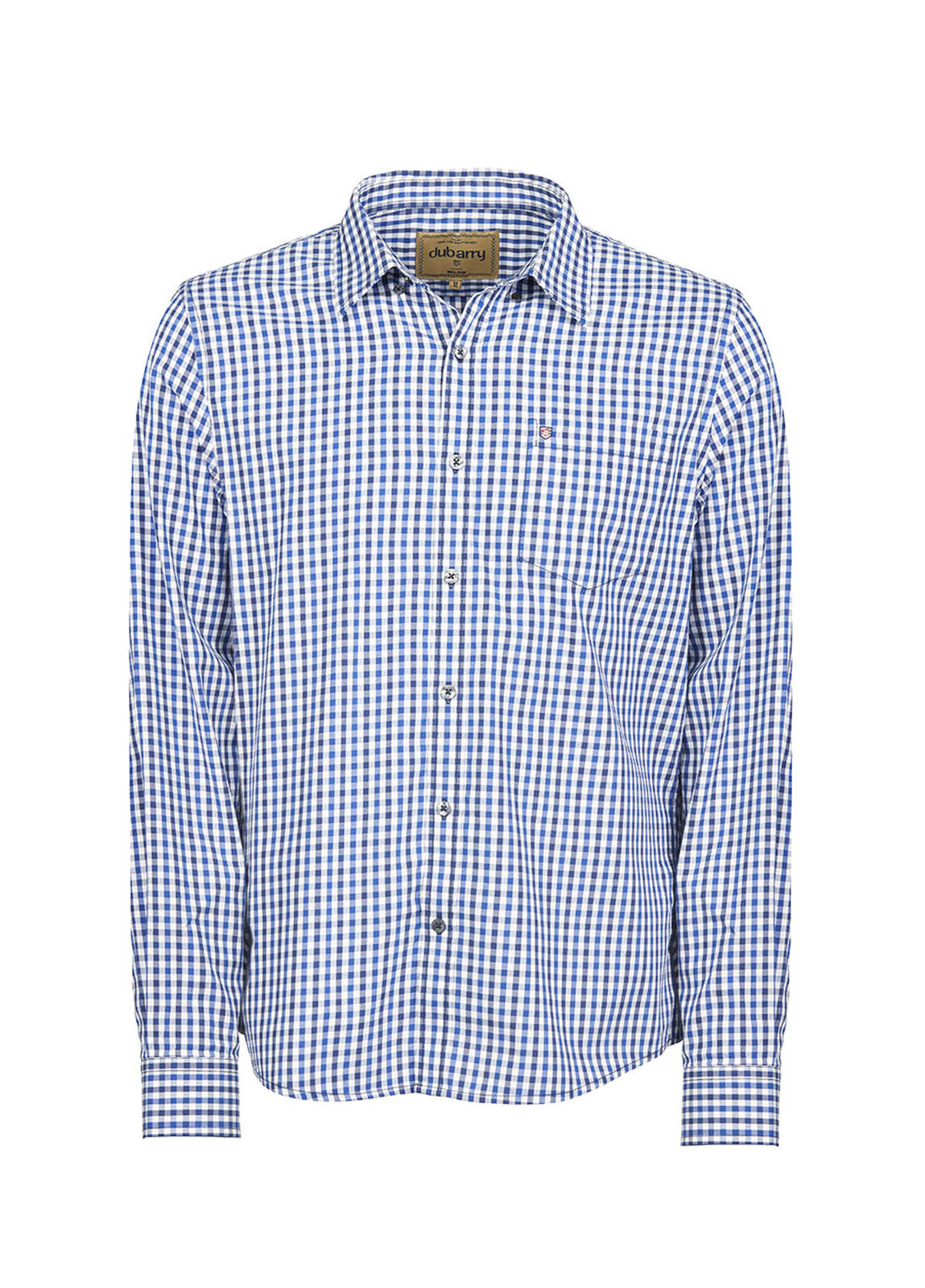 Dubarry_ Allenwood Men's Shirt - Blue Multi_Image_2