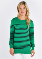 Portlaw lightweight Sweater - Kelly Green
