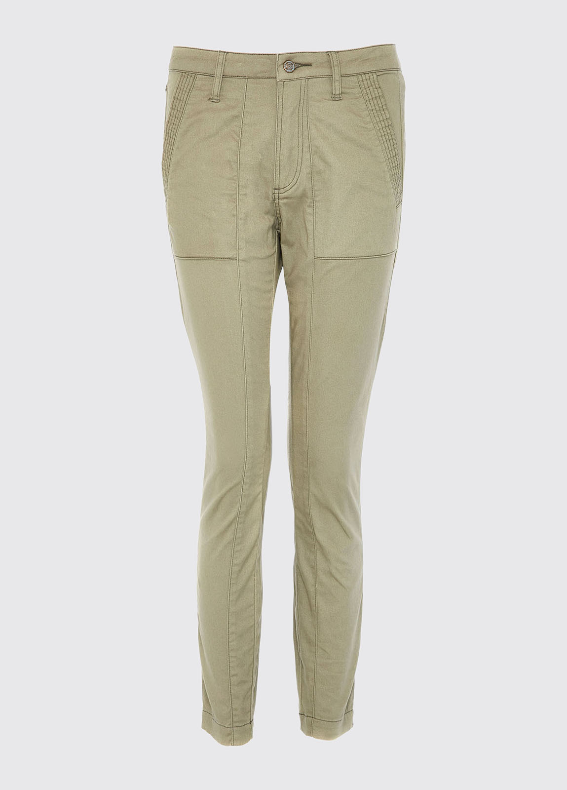 Roscarbery cropped trousers - Khaki
