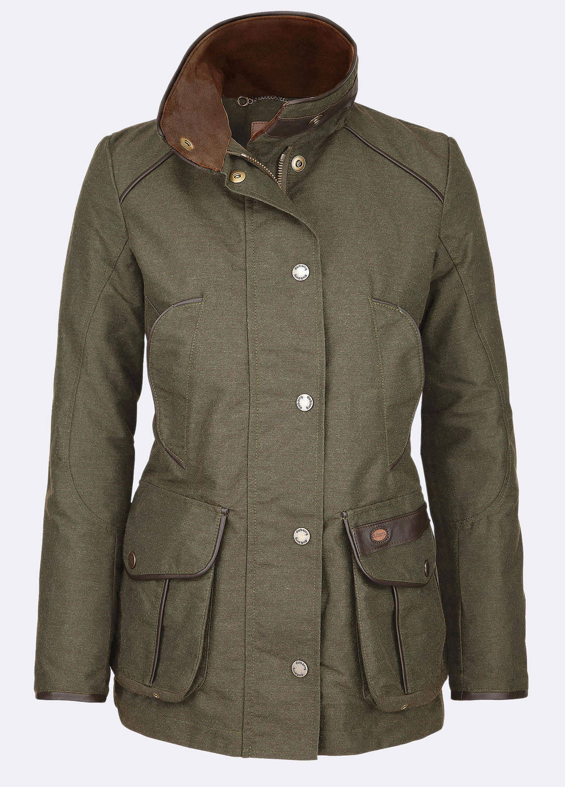 Dubarry_Leslie_Sports_Jacket_Dark_Olive_off_model