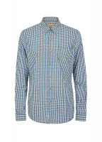 Allenwood Men's Shirt - Navy/Bordo